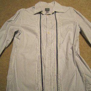 Armani Exchange Men's Tuxedo Shirt